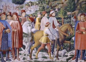 S Agostino parte per Roma